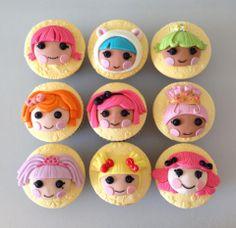 Lalaloopsy Cupcakes :) mazapanes