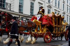 Pomp & Pageantry, Lord Mayors show. London. Mayor Of London, London City, Carnival Floats, Armistice Day, Lord