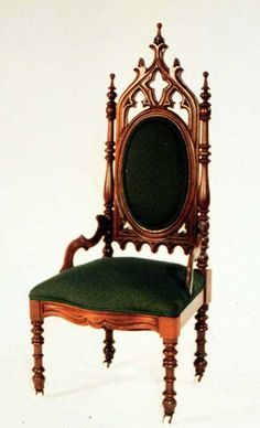gothic furniture chair - Google Search
