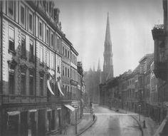 Berlin, Brüderstraße, um 1890.