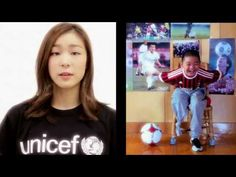 Watch as UNICEF Goodwill Amassador and Olympic Gold medalist Yuna Kim lends her voice to helping children with disabilities.     You can learn more about helping children with disabilities by visiting:  http://www.unicef.org/sowc2013