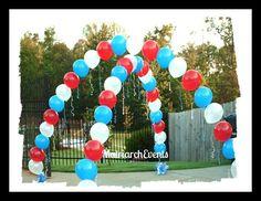 Balloon Cross Arch