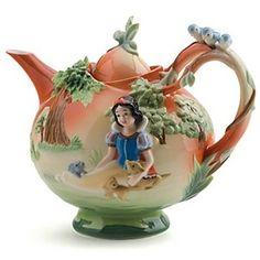 Porcelain Snow White Teapot by Franz | ProductDetailPage | D ...