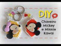 DIY - Chaveiros Minnie e Mickey super fofo!