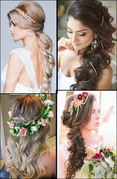 Gorgeous wedding hairstyles for long hair!