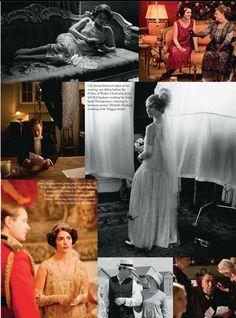 Downton Abbey : Harpers Bazaar UK December 2013