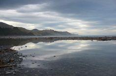 Desde el mar de nueva Zelanda