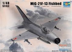 1/48 scale MiG-21F-13 kit from Trumpeter.