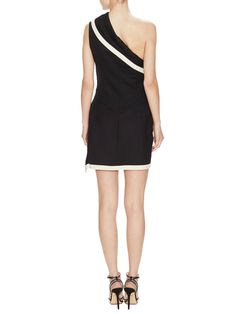 One Shoulder Dress by Alexander McQueen at Gilt