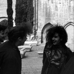 Spanish trad goth friends, Castille and Leon, 1989.