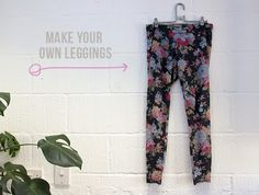 How to make your own DIY leggings