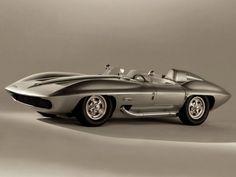 1959 Chevrolet Corvette Stingray Racer Concept Car | Looks like Speed Racers Mach 5!