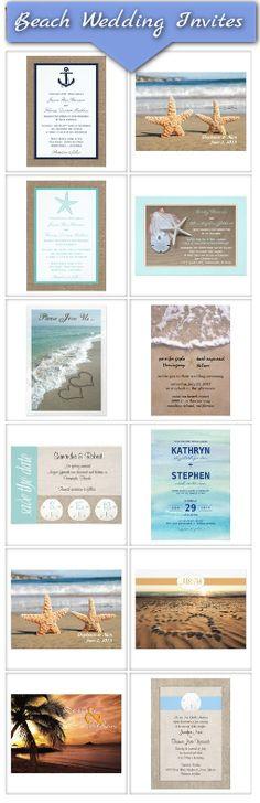 Beach Wedding Invitation ideas