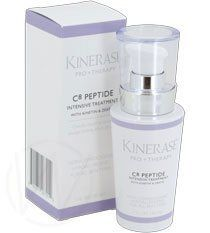 Kinerase Pro Therapy C8 Peptide Intensive Treatment by KINERASE. $93.85. Conquers damage at every level for noticeably younger looking skin in just 28 days.. Kinerase Pro Therapy C8 Peptide Intensive Treatment is a powerful daily treatment that conquers damage at every level for noticeably younger looking skin in just 28 days.  Its power-packed formula makes it an excellent topical alternative and complement to physician injections.