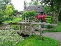 Giethoorn, Holanda, un pueblo sin carreteras