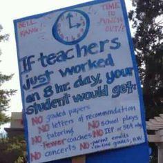 Go teachers!