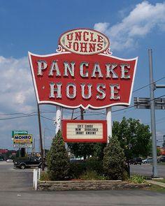 Uncle Johns Pancake House....Toledo, Ohio. We had an Uncle Johns Pancake House in Lansing, Michigan when I was growing up.