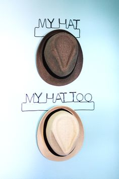 Wire Hat Hook DIY | The Band Wife