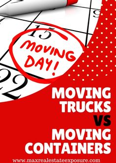Do you know the pros and cons of moving containers vs moving trucks? Take a look at all the advantages and disadvantages or each moving option. Some may prefer going with moving containers while others may choose to either use a moving company or do everything themselves. Each option is reviewed in detail.