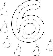 Resultado de imagen para fichas del numero 6