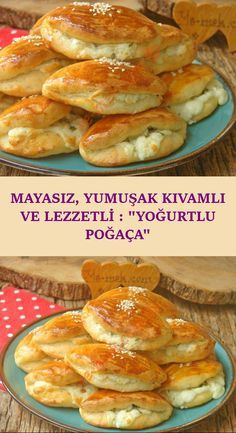 Mayalama derdi olmadan kısa sürede hazırlayabileceğiniz, yumuşak kıvamı, … - pionero de la cosmética, alimentación, moda y confección Donut Recipes, Pastry Recipes, Paleo Recipes, Dessert Recipes, Desserts, Food Deserts, Delicious Donuts, Yummy Food, Desayuno Paleo