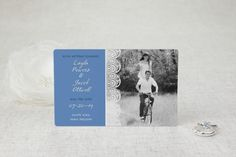 Classic Lace Save the Date Magnets