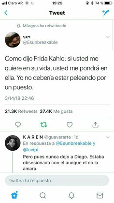 Discover recipes, home ideas, style inspiration and other ideas to try. Tweet Quotes, Fact Quotes, Twitter Quotes, Mood Quotes, Poetry Quotes, Life Quotes, Spanish Quotes With Translation, Latinas Quotes, Mood Songs