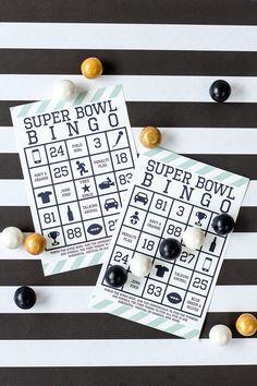 Kid-Friendly Super Bowl Bingo - Seattle Seahawks - Starling Agency