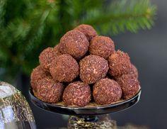 Čokoládové koule s višněmi