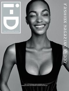 i-D Magazine 35th Anniversary Covers // Joan Smalls & her killer smile #style #fashion #beauty