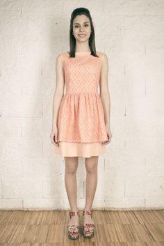 Colección SS15 OHIO GIRLS by La Böcöque. El vestido Peach será el mejor aliado para ese evento primaveral. Prendas creadas con mucho mimo en nuestro taller. 100% Made in Spain