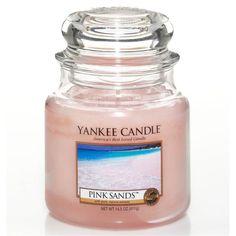 Moyenne Jarre / Bougie parfumée Sable Rose / Pink Sand Medium Jar Yankee Candle Yankee Candle : EcoDesignConcept.com votre galerie de produits naturels, ecologiques, ethiques en ligne ! Large choix d'objets ecodesign, bio
