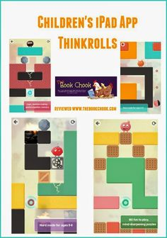 Children's iPad and Android App, Thinkrolls. Kids can learn to plan ahead logically with this great game from @avokiddogames.