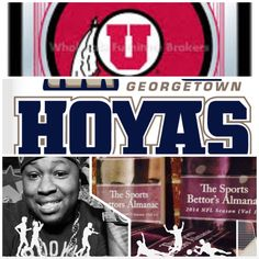 "3/21/15 NCAAB #MarchMadness : #Utah #Utes vs #Georgetown #Hoyas (Take: Utah -4,Under 124.5) (THIS IS NOT A SPECIAL PICK ) ""The Sports Bettors Almanac"" SPORTS BETTING ADVICE  On  95% of regular season games ATS including Over/Under   1.) ""The Sports Bettors Almanac"" available at www.Amazon.com  2.) Check for updates   My Sports Betting System Is an Analytical Based Formula   ""The Ratio of Luck""  R-P+H ±Y(2)÷PF(1.618)×U(3.14) = Ratio Of Luck  Marlawn Heavenly VII ( SportyNerd@ymail.com )  #NFL…"