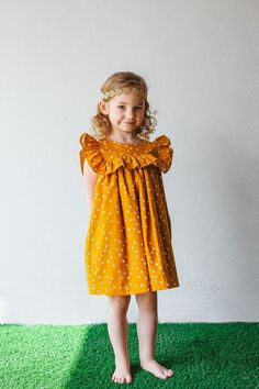 Our top picks for Thanksgiving dresses for kids. See them all at blog.cuteheads.com // Shown here: The Megan dress, only available at cuteheads.com.