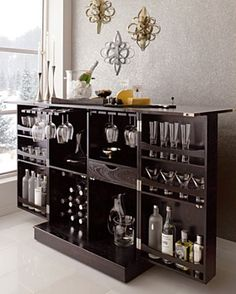 Up Cycled Armoire | Armoires, Bar and Liquor cabinet
