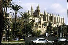 Palma, Majorca, Spain been inside that church one if the oldest in Spain