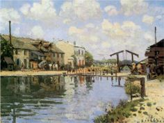 The Canal Saint Martin 1872 Poster by Sisley Alfred. Choose from multiple sizes and hundreds of frame and mat options. Canvas Art Prints, Framed Art Prints, Painting Prints, Impressionist Landscape, Landscape Paintings, Landscapes, Impressionist Paintings, Oil Paintings, Fine Art
