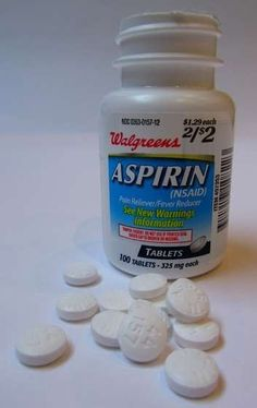 9 Unusual Uses for Aspirin. Sweat stain removal, hair color help, plant care by rosario