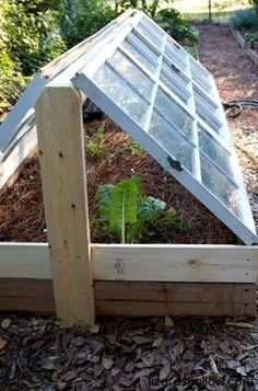 Cold frame for those New England winters...one day I will do this.