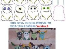 ♥Little lovely Monstas MIDDLE- ITH♥ B mind. 15x24