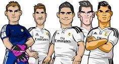 En Real Madrid Kids Planet podrás encontrar a tus jugadores favoritos, ¡e incluso ficharlos para tu equipo!