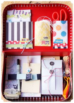 Down By The Shore traveling scrapbook.. Brag Book/embellishments/scissors! Fancy Pants Designs CHA Winter 2013