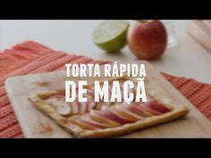 Torta rápida de maçã | Receitas Saudáveis - Lucilia Diniz - YouTube