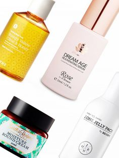 Splash masks, the world's first-ever Botox in a bottle, and more Korean skincare products we're dying to try.