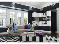 kardashian striped walls - Google Search