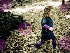 The magic of playing with leaves in the fall...  KOOLS KIDS AUTUMN/WINTER 2015