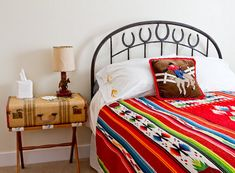 Love this children's room...decorate with things from all cultures!