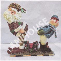 Resultado de imagen para muñecos country navideños alejandra sandes Gingerbread, Santa, Teddy Bear, Christmas Ornaments, Diy, Painting, Animals, Vintage, Google
