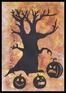 Halloween – siluety